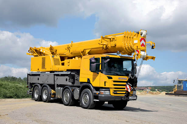 New 60 tonne Liebherr truck mounted crane | All Things Cranes