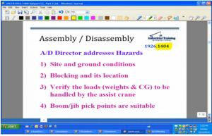 OSHA - Assembly and Disassembly