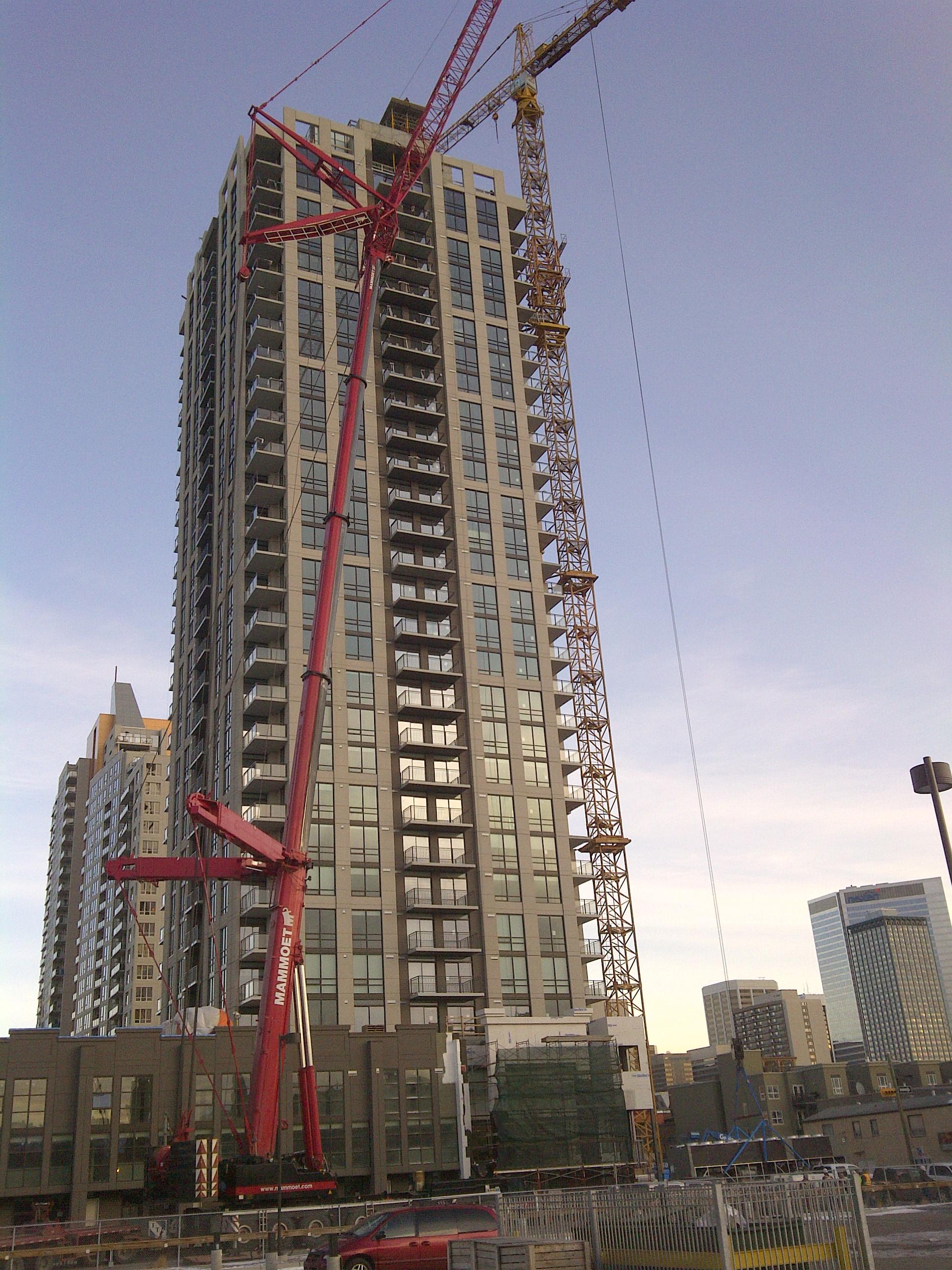 Jib Cranes Edmonton : Wildest crane project photos all things cranes