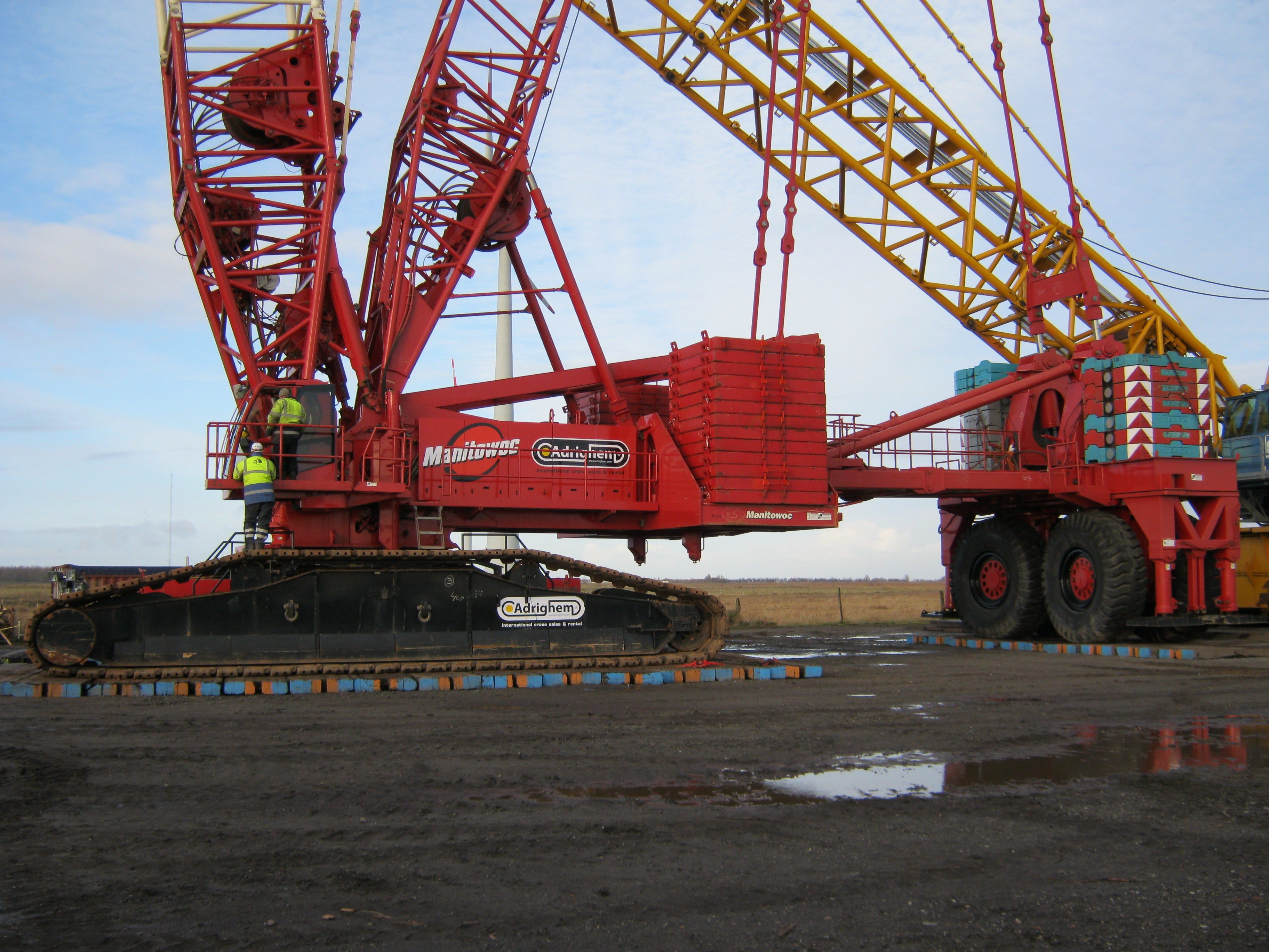 Large Construction Cranes : Coolest mobile crane photos all things cranes