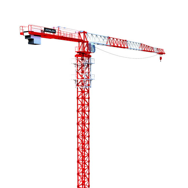 Tower Crane Design : Zoomlion jost flat top tower crane launched all things
