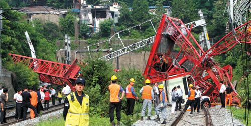 Seoul Crane Collapse