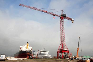 Largest Potain in Indonesia - All Things Cranes