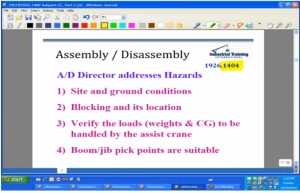 OSHA - Assembly and Disassembly