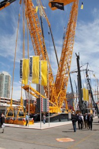 Liebherr LR1600/2 stands out at ConExpo 2011
