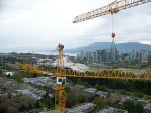 Liebherr 291 taking down another Liebherr 291 in Vancouver, BC
