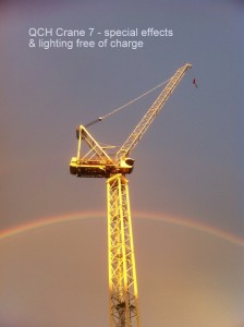 Rainbow behind the STL 230 QCH Mater project