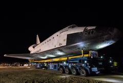Sarens/Rigging International transported the U.S. Space Shuttle Endeavour on it final mission, a 14.2-mile journey from Los Angeles International Airport to the California Science Center.