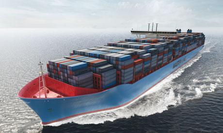 Triple E container ship