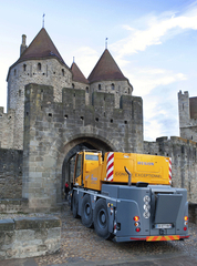 Medieval treatment for Liebherr