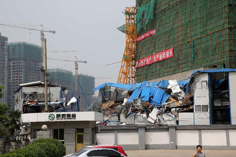 China Crane Collapse 2