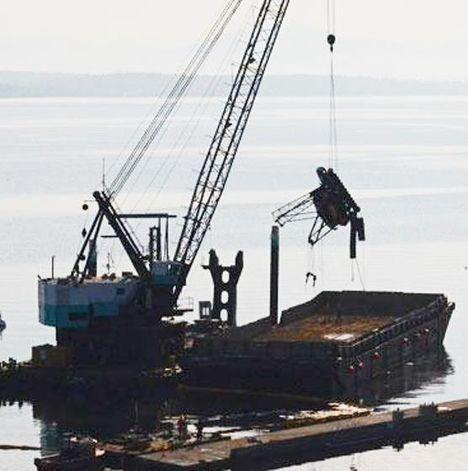 Crane Recovered