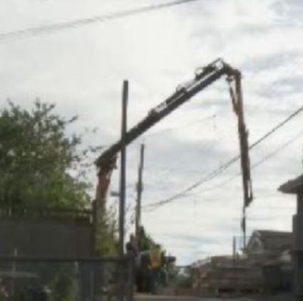 Crane Operator Electrocuted. 1