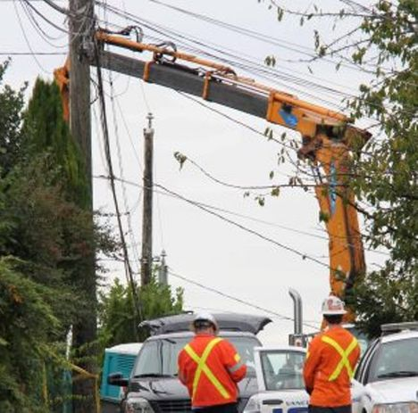 Crane Operator Electrocuted