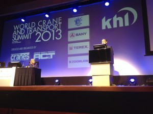 World Crane & Transport Summit 2013