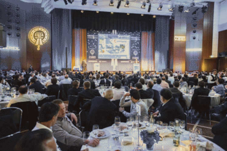 The 2013 ESTA Awards of Excellence evening in Munich, Germany
