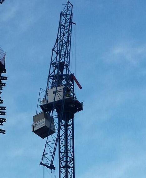 Tower Crane Collide B