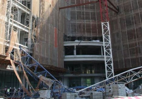 Fatal tower crane collapse