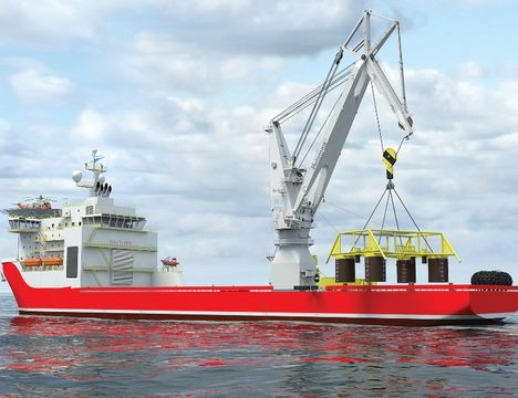 Huisman Unveils Boom Crane