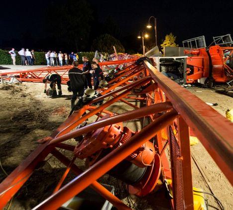 Crane Accident Switzerland 1