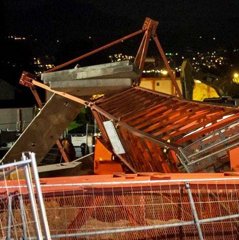 Crane Accident Switzerland