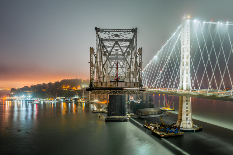 Bay Bridge Dismantled