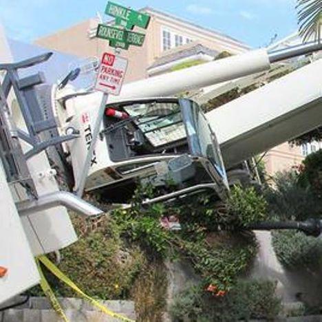 Crane Overturned 2