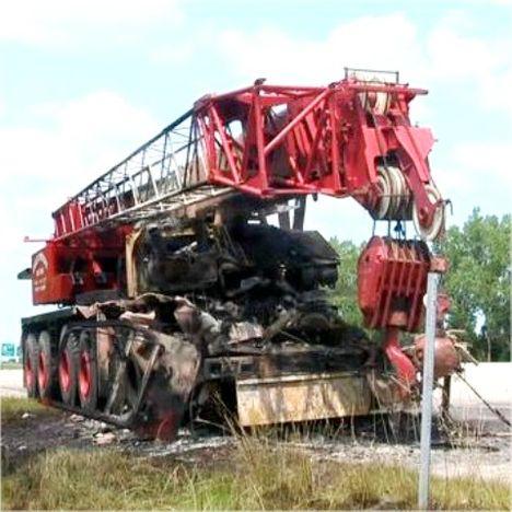 McNally Nimergood, 5 axle crane