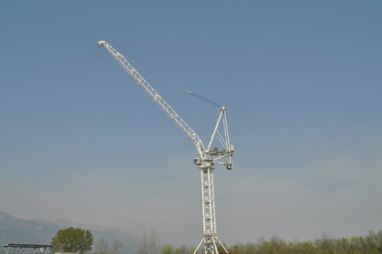 Terex lifting crane