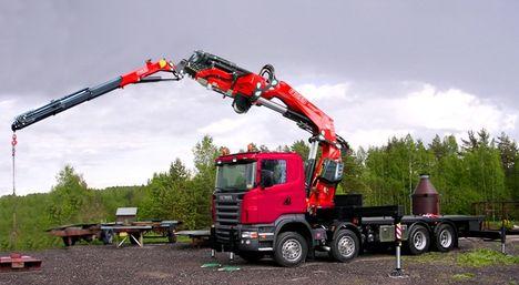 Fassi F990RA XHE loader crane Mounted