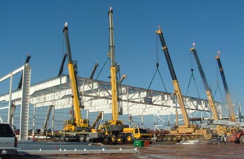Ten Crane Lift