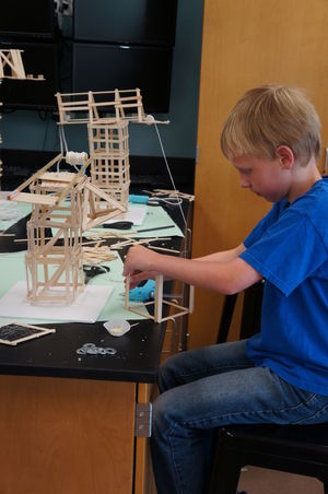 Area Youth Use Science To Build Fully Functional Miniature Cranes